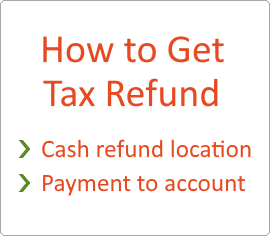 How to get Tax Free refund
